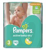 Pampers Active Baby Midi 3 (5-9kg) pieluszki 90szt Gigant Pack