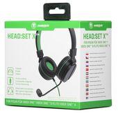 snakebyte Zestaw słuchawkowy Xbox One HEAD:SET X
