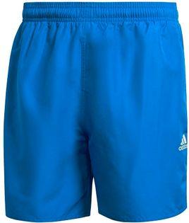 Spodenki męskie kąpielowe adidas Short Length Solid Swim niebieskie GQ1082 S