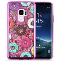 Zizo Liquid Glitter Star Case - Etui do Samsung Galaxy S9 (Donuts)