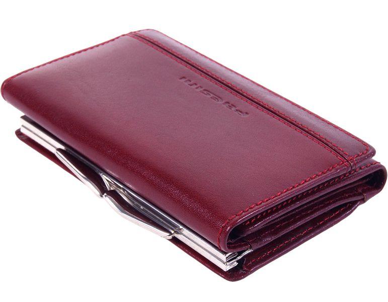 Wisniowy portfel damski - Paesini-1223 zdjęcie 4