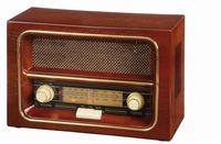 Radio UPOMINKARNIA AM/FM RECEIVER Brązowy