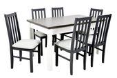 Zestaw prowansalski 6 krzeseł i stół + GRATIS