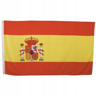Flaga na maszt 90 x 150 cm Hiszpania