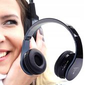 BEZPRZEWODOWE SŁUCHAWKI BLUETOOTH SD MP3 RADIO FM BOOM BOOM zdjęcie 5