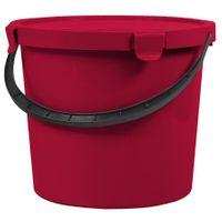 Plast Team Wiadro 10l Berry Z Pokrywą Czerwone 6079