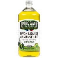 Mydło marsylskie w płynie oliwkowe 1000 ml - Maître Savon
