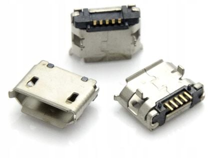 NOWE GNIAZDO MICRO USB 5+2 PIN SMD TABLET TELEFON GPS GW
