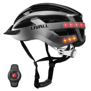 LIVALL MT1 Inteligentny Kask Rowerowy NA PREZENT BT LED/SOS Szary L