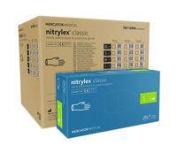 Rękawice nitrylowe fioletowe nitrylex classic S karton 10 op x200 szt