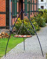 Grill na trójnogu Korono 200/111 200cm/50cm z rusztem ze stali czarnej
