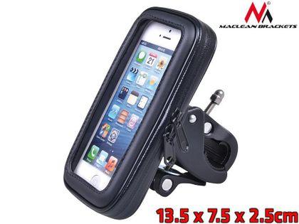 Uchwyt rowerowy Maclean MC-688 M do telefonu rozmiar S, wodoodporny uniwersalny