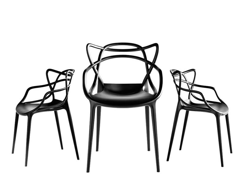 Krzesło Dankor Design Masters czarny wzmacniany zdjęcie 2