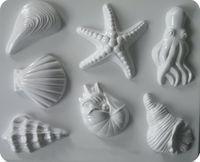 Forma do odlewów - Odlewy gipsowe - Motywy morskie (2713173)
