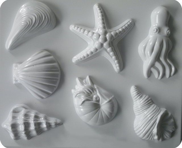 Forma do odlewów - Odlewy gipsowe - Motywy morskie (2713173) na Arena.pl