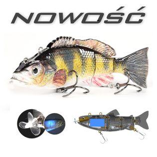 Elektryczny żywiec - rybka na akumulator - przynęta wędkarska PLY03
