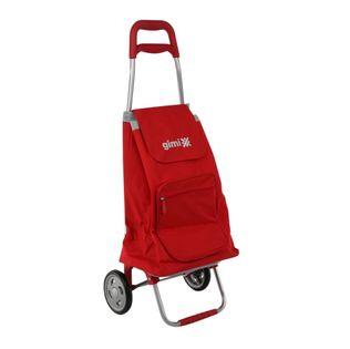 Lumarko wózek na zakupy 30kg/45l. Argo czerwony