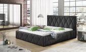 Łóżko Tapicerowane TRIO 160x200+ Stelaż