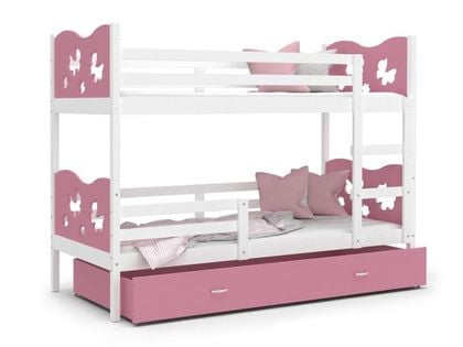 Łóżko piętrowe MAX 160x80 + materac