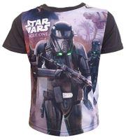T-Shirt Star Wars Grey 10Y r140 Licencja Disney LucasFilm (QE1594)