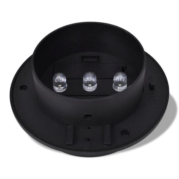 Lampy solarne, 6 sztuk, czarne zdjęcie 5