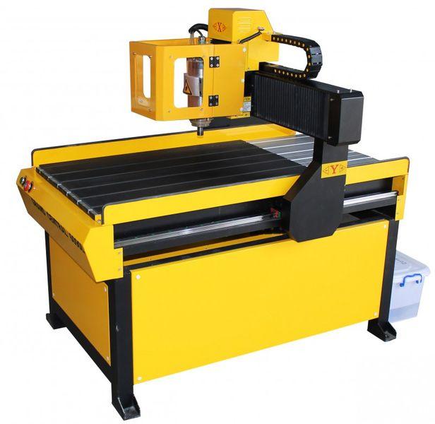 FREZARKA PLOTER CNC 6090 GRAWERKA 3kW z170mm MACH3 zdjęcie 6