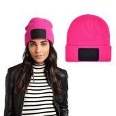 Czapka Adidas Beanie Originals sTe* BR2838 Róż Zimowa damska Ciepłą