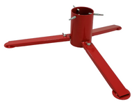 TUCHMET Stojak pod choinkę składany 3-nożny AGA fi 90 z pojemnikiem na wodę - kolor czerwony