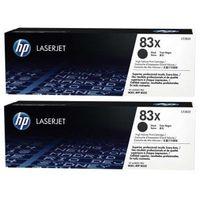 HP Inc. Toner 83X Black 2.2k Dual Pack CF283XD