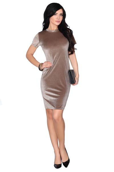 Elegancka Sukienka obcisła aksamitna Mini szykowna i wygodna XL zdjęcie 2