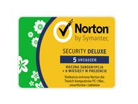 Norton Security Deluxe 5 stanowisk / 18 miesięcy