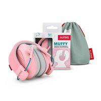 Ochronniki słuchu dla dzieci Alpine Muffy Pink 5+