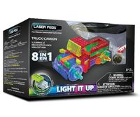 Laser Pegs Świecące Klocki 8W1 Truck Ciężarówka Pb1430B
