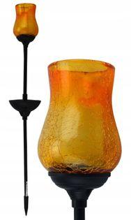Lampa solarna Kielich pomarańczowy