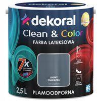Dekoral Clean & Color 2,5L JASNY ZMIERZCH