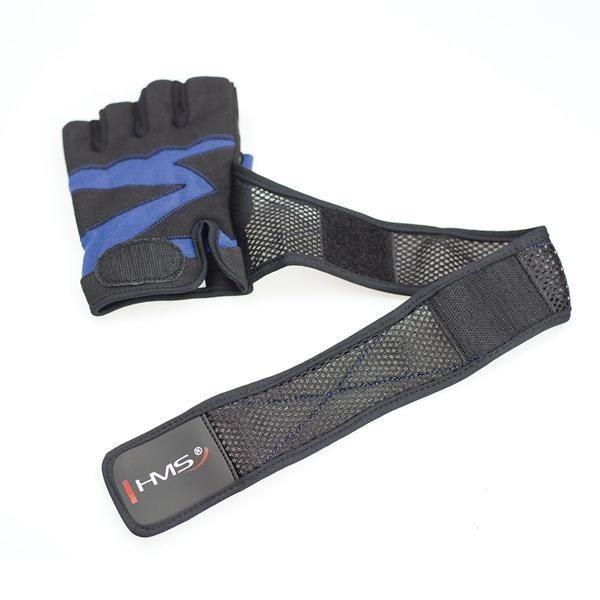 Rst02 Black/blue Rozm. Xl Rękawice Na Siłownię Hms zdjęcie 5