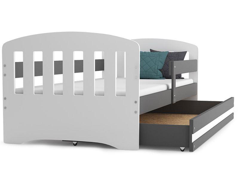 Łóżko dla dzieci HAPPY dziecięce 160x80  + SZUFLADA + MATERAC zdjęcie 8