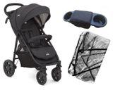 Joie LITETRAX 4 Plus V2 wózek spacerowy + Śpiworek