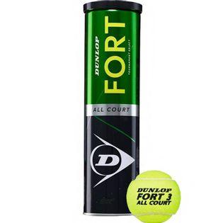 Piłki do tenisa ziemnego Dunlop Fort All Court Tournament Select 4szt