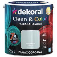 Dekoral Clean & Color 2,5L PRZEJRZYSTA MGŁA