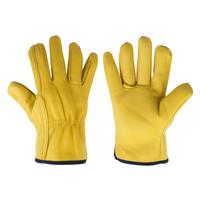 Rękawice ochronne CORK, ze skóry koziej z podszewką, rozmiar 10,5