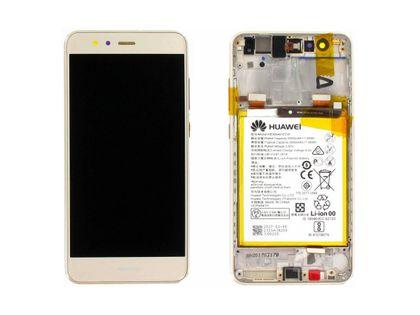 100% Oryg Nowy Przód z LCD i bater. P10 Lite złoty