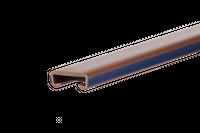 Listwa poręczowa PCV LUX, poręczówka 40x8mm brąz/granat 1 mb