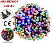LAMPKI NA CHOINKĘ 100 LED MULTI