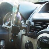 Uchwyt samochodowy na telefon do kratki wentylacyjnej zdjęcie 3