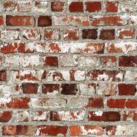 Tapeta Cegiełka imitacja starego muru z cegły 102538 efekt 3d Ugepa