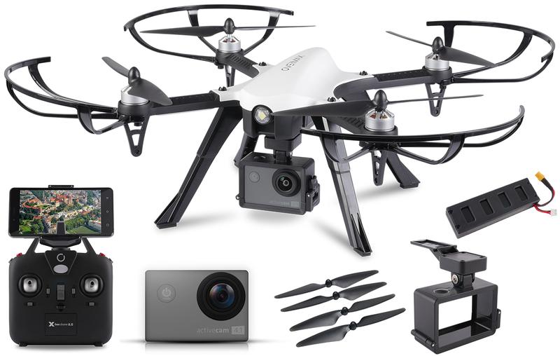 Dron OVERMAX X Bee Drone 8.0 Kamera 4K WiFi FPV zdjęcie 1