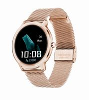 Smartwatch damski Rubicon RNBE66 różowe złoto