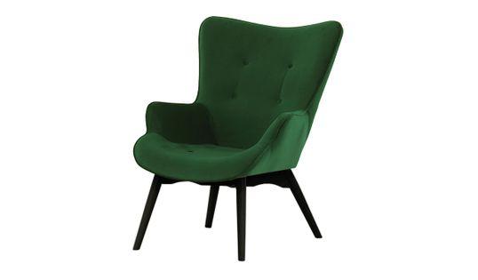 Fotel Ducon Velvet-Kronos 14-czarny