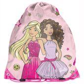 Worek na obuwie Barbie różowy, Paso